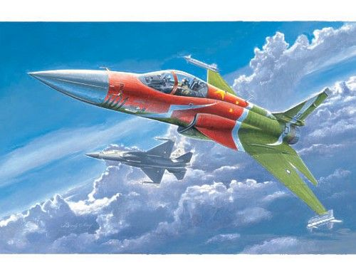 Trumpeter 1/48 Chinese FC-1 Fierce Dragon (Pakistan JF-17 Thunder) # 02815