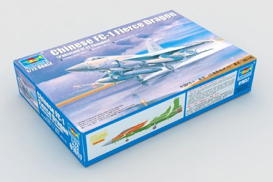 Trumpeter 1/72 Chinese FC-1 Fierce Dragon # 01657