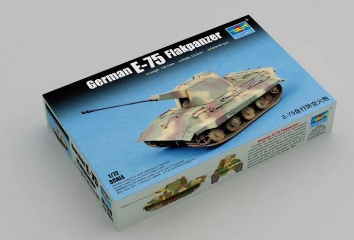 Trumpeter 1/72 German E-75 Flakpanzer # 07126