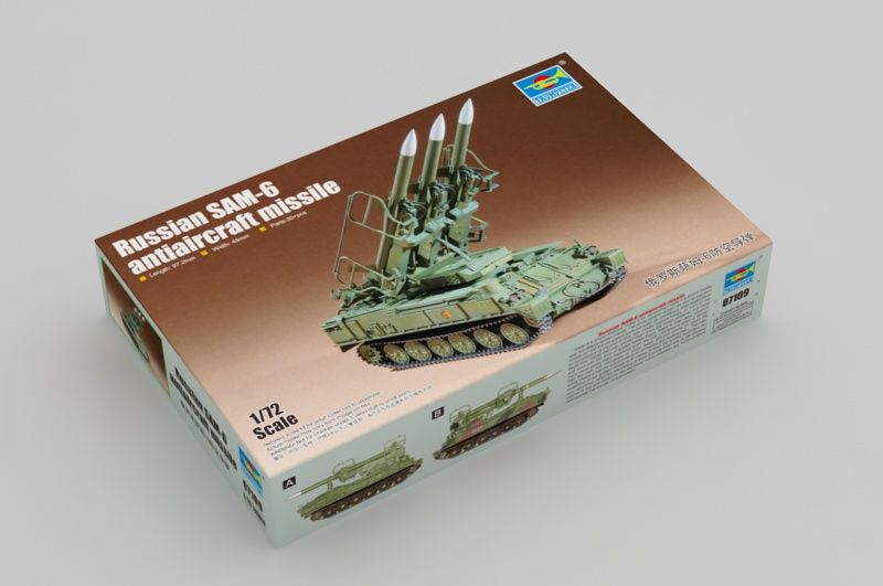 Trumpeter 1/72 Russian SAM-6 Anti-Aircraft Missile # 07109