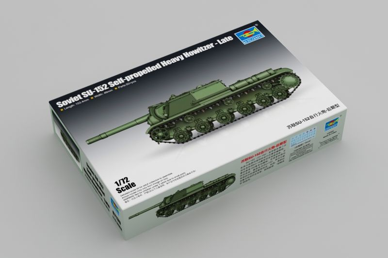 Trumpeter 1/72 Soviet SU-152 Self-Propelled Heavy Howitzer - Late # 07130