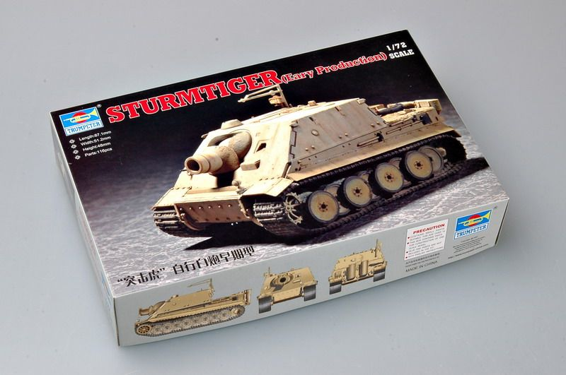 Trumpeter 1/72 Sturmtiger early # 07274