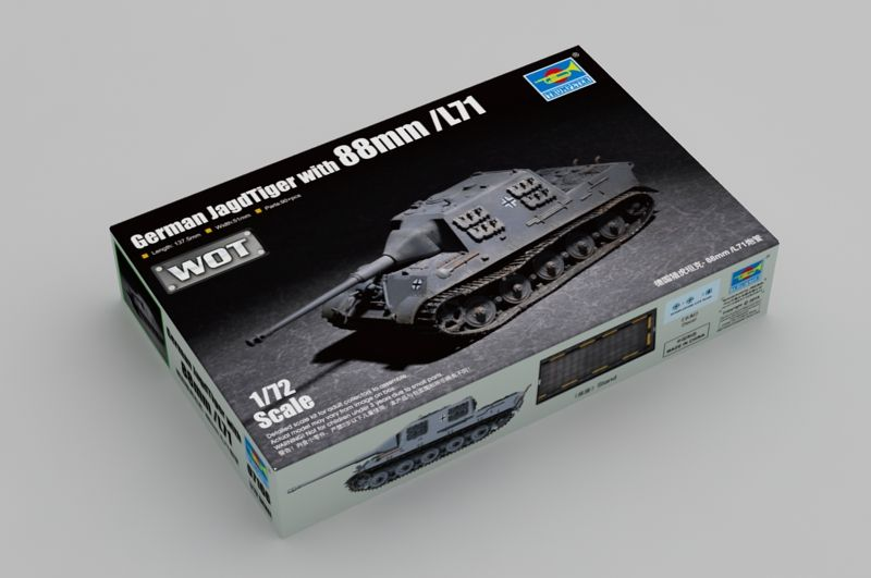 Trumpeter 1/72 WOT German JagdTiger with 88mm /L71 # 07166