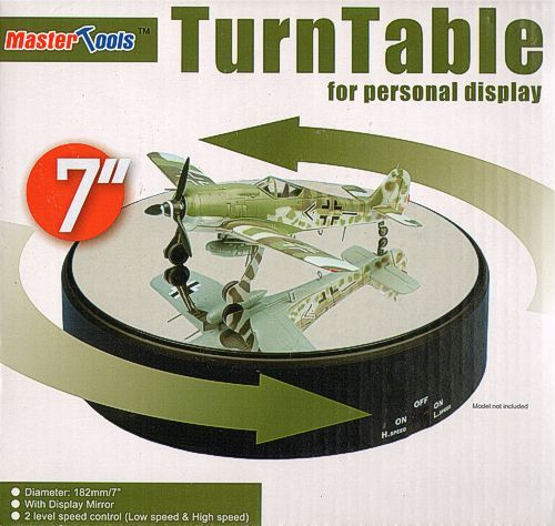 Trumpeter - 182mm x 42mm Turntable with Display Mirror # 09835