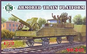 UM-MT 1/72 Armored Train Platform # 642