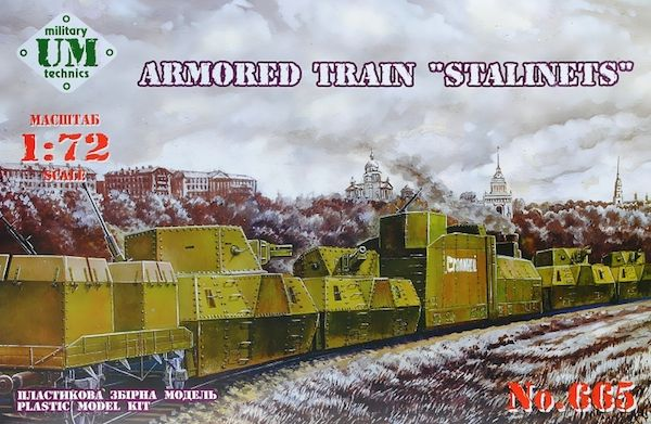 "UM-MT 1/72 Armored Train ""Stalinets"" # 665"