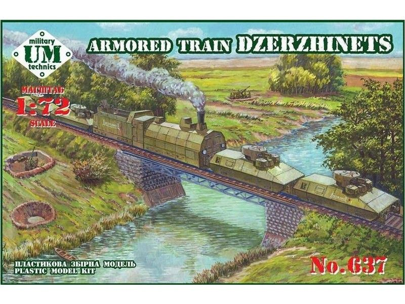 UM-MT 1/72 Armoured Train Dzerzhinets # 637