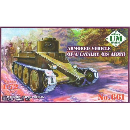 UM-MT 1/72 Armoured Vehicle Cavalry US Army # 661