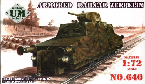 UM-MT 1/72 Zeppelin Armoured Railcar # 640