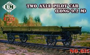 Unimodel 1/72 Two Axle Pilot Car (Long 9.2 M) # 615