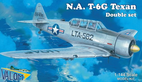 Valom 1/144 North American T-6G Double Set # 14409