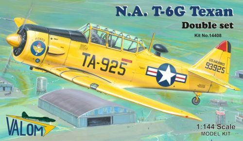Valom 1/144 North-American T-6G Dual Combo # 14408