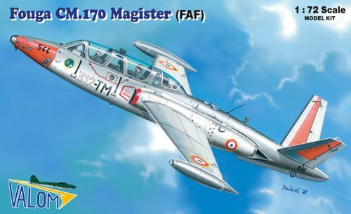 Valom 1/72 Fouga CM.170R Magister (French Air Force) # 72083