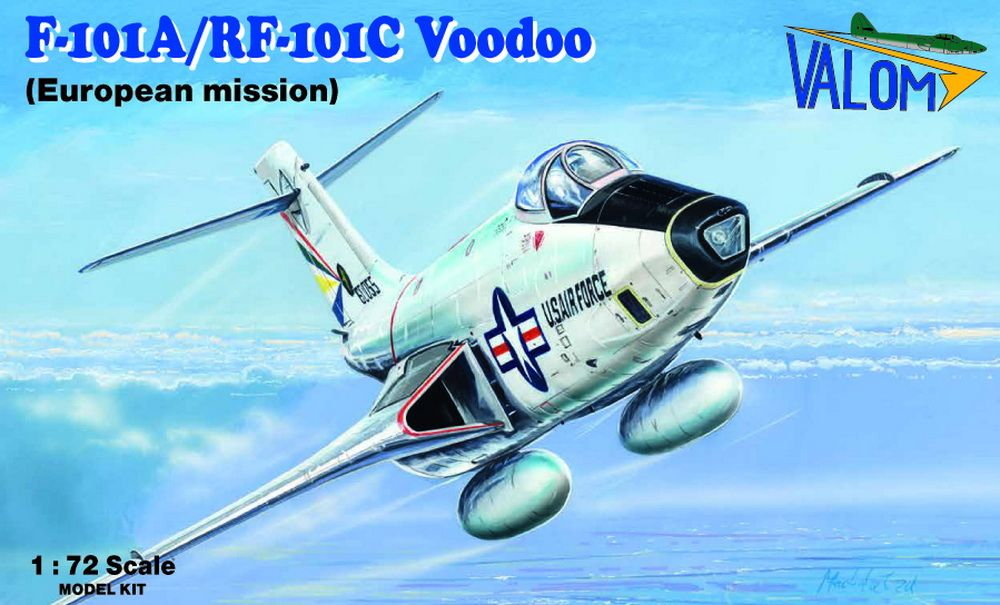 Valom 1/72 McDonnell F-101A/RF-101C Voodoo (European Mission) # 72119