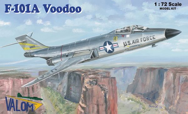 Valom 1/72 McDonnell F-101A Voodoo # 72094