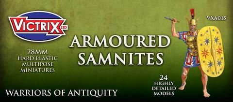 Victrix 28mm Armoured Samnites # VXA015