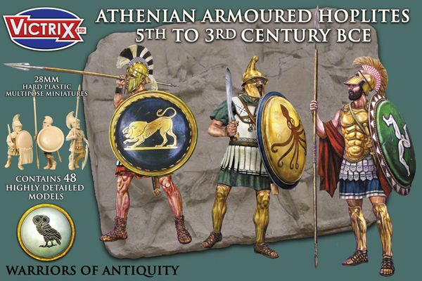 Victrix 28mm Athenlan Armoured Hoplites 5th-3rd Century BCE # VXA001