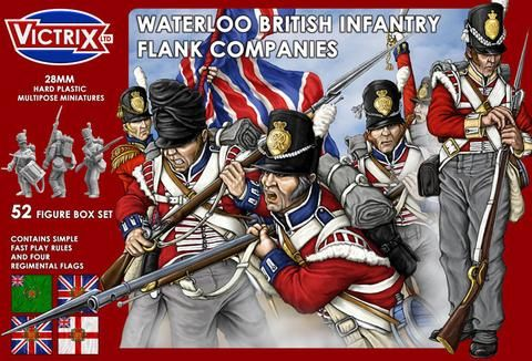 Victrix 28mm British Infantry Flank Companies # VX0003