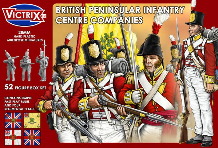 Victrix 28mm British Peninsular Infantry Centre Companies # VX0002