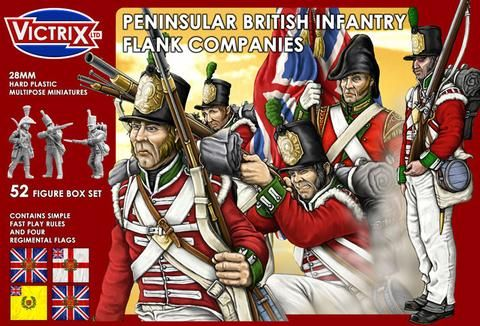 Victrix 28mm British Peninsular Infantry Flank Companies # VX0004