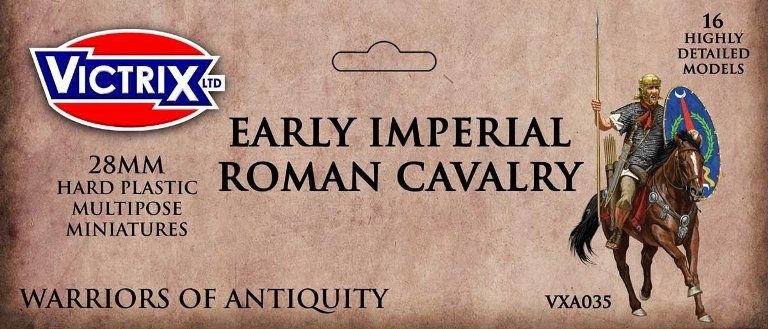 Victrix 28mm Early Imperial Roman Cavalry # VXA035