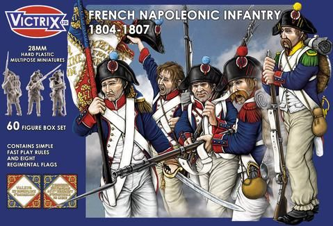 Victrix 28mm French Napoleonic Infantry 1804-1807 # VX0008