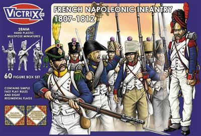 Victrix 28mm French Napoleonic Infantry 1807-1812 # VX0005