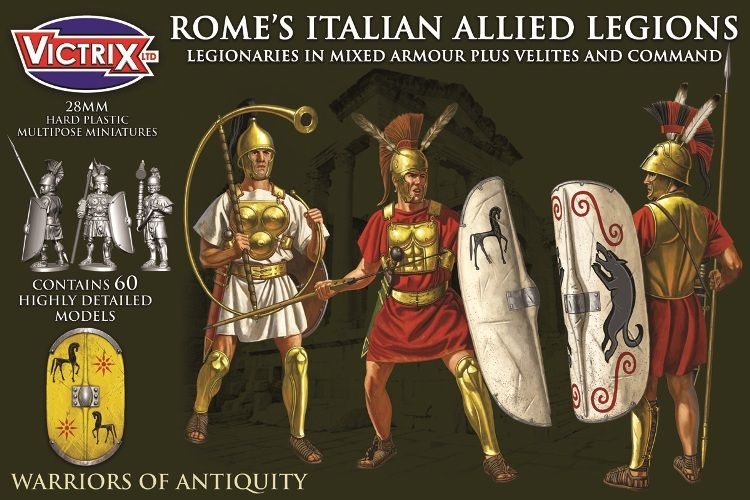 Victrix 28mm Rome's Italian Allied Legions # VXA009