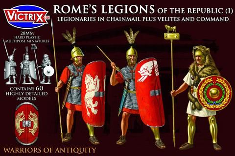 Victrix 28mm Rome's Legions of The Republic (I) # VXA007