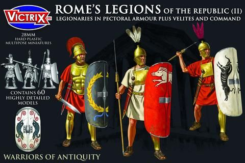 Victrix 28mm Rome's Legions of The Republic (II) # VXA008