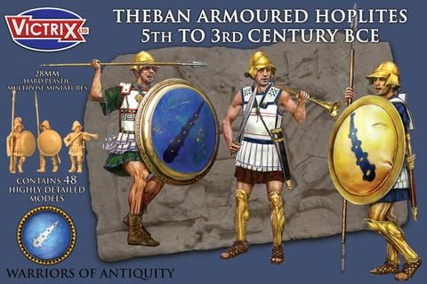 Victrix 28mm Theban Armoured Hoplites 5th To 3rd Century BCE # V