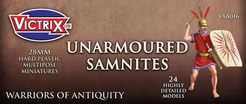 Victrix 28mm Unarmoured Samnites # VXA016