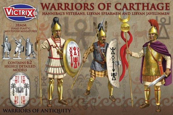 Victrix 28mm Warriors of Carthage # VXA010