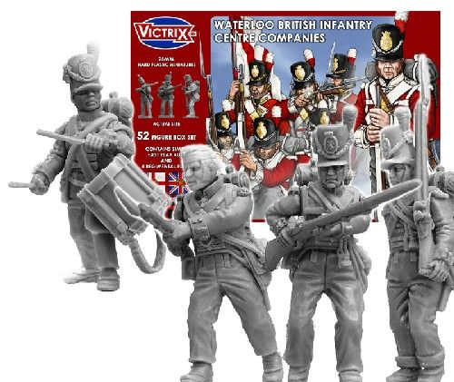 Victrix 28mm Waterloo British Infantry Centre Companies # VX0001