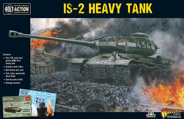 Warlord Games 1/56 IS-2 Heavy Tank # 402014002