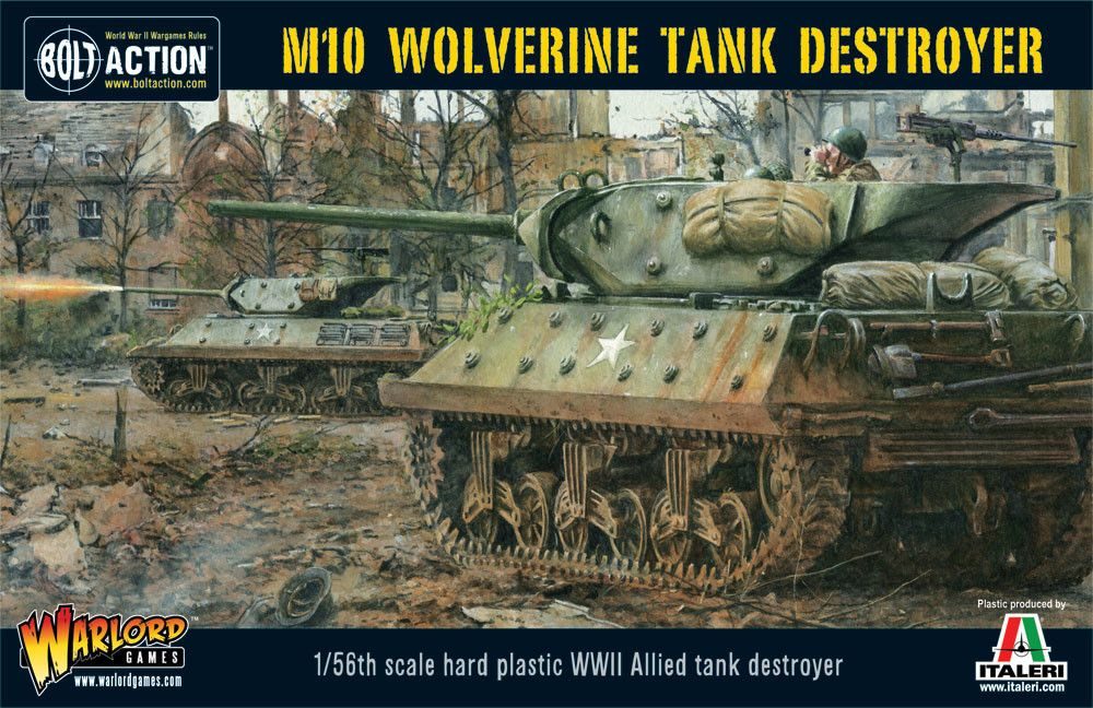 Warlord Games 1/56 M10 Wolverine Tank Destroyer # WGB-AI-505