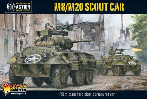 Warlord Games 1/56 M8/M20 Scout Car # WGB-AI-504