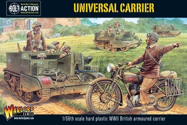 Warlord Games 1/56 Universal Carrier # WGB-BI-500