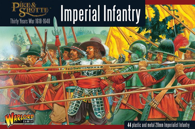 Warlord Games 28mm 30 Years War Imperial Infantry # 202012001