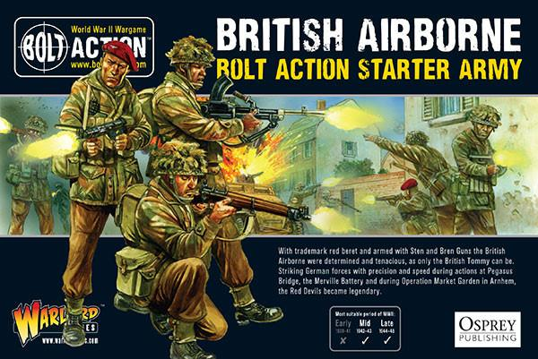 Warlord Games 28mm Bolt Action British Airborne Starter Army # 409911101