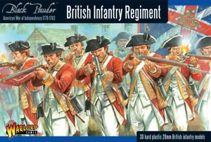 Warlord Games 28mm British Infantry Regiment # WGR-AWI-01