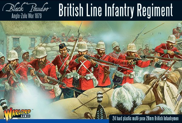 Warlord Games 28mm British Line Infantry Regiment # 302014601