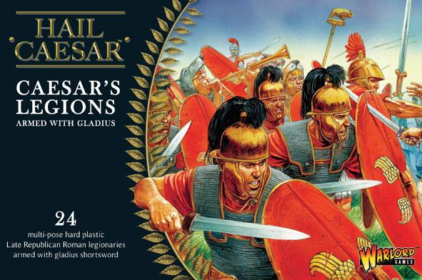 Warlord Games 28mm Caesar's Legions Armed with Gladius # WGH-CR-