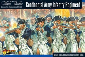 Warlord Games 28mm Continental Army Infantry Regiment # WGR-AWI-