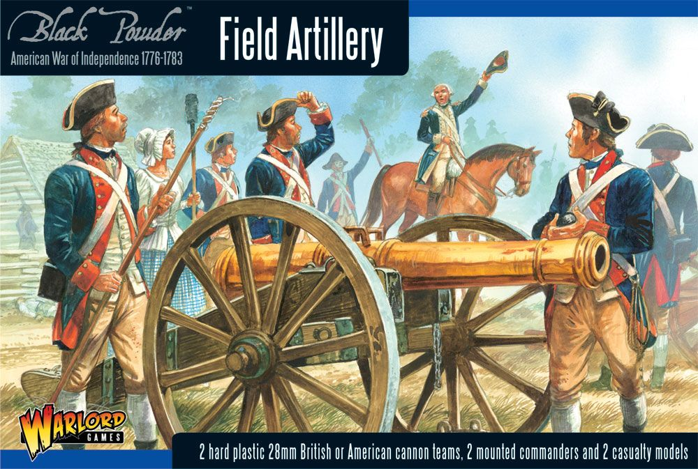 Warlord Games 28mm Field Artillery # WGR-AWI-02