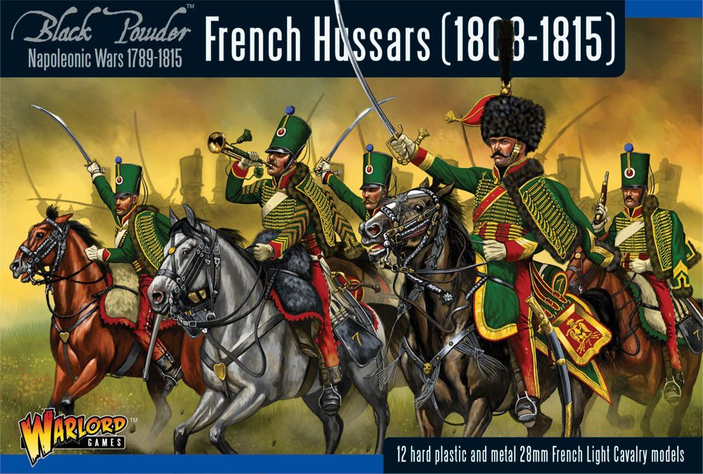 Warlord Games 28mm French Hussars (1808-1815) # WGN-FR-08