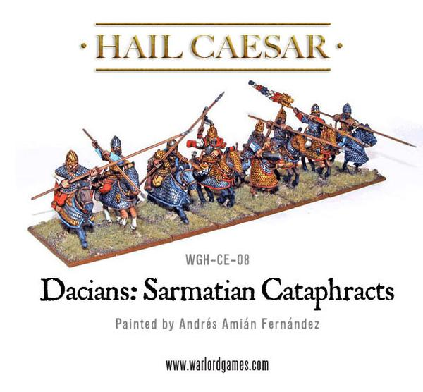Warlord Games 28mm Hail Caesar Sarmatian Cataphracts # WGH-CE-08