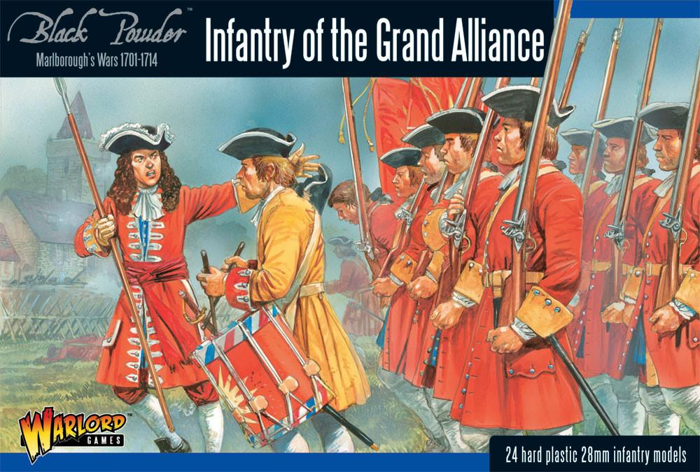 Warlord Games 28mm Infantry of the Grand Alliance # 302015002