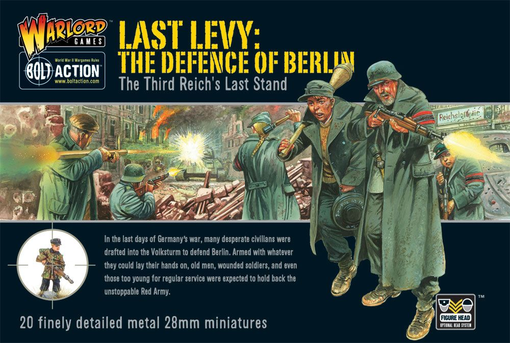 Warlord Games 28mm Last Levy: The Defence of Berlin # WGB-WM-03
