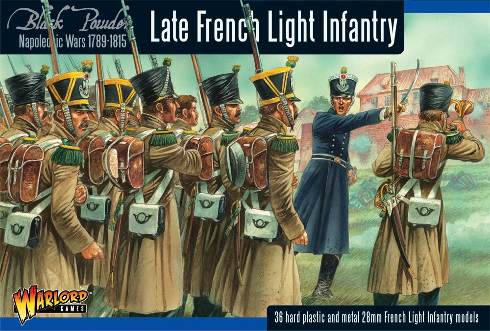 Warlord Games 28mm Late French Light Infantry # WGN-FR-06